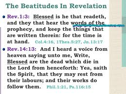 and their works do follow them the beatitudes in revelation the beatitudes in the sermon on the
