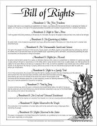 the bill of rights the first ten amendments to  15 1791 the bill of rights the first ten amendments to the united states constitution are ratified jim sellers msee bsee pulse