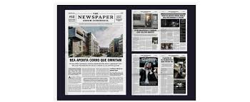Related to tabloid examples for students. Newspaper Layout Templates Make It With Adobe Creative Cloud