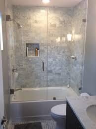 remarkable bathroom shower door ideas with enchanting frameless within frameless bathtub glass door