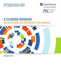 Psc 2014 Acquisition Policy Survey By Professional Services