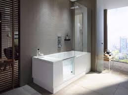 bathtub with shower shower bath by duravit