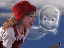 casper and wendy. casper and wendy having fun.