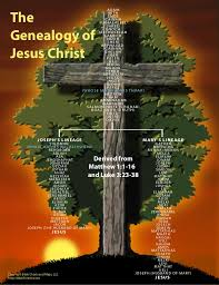 Genealogy Of Jesus Christ Tree