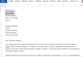 Best Ideas of Email Requesting Letter Re mendation For Graduate School For Summary