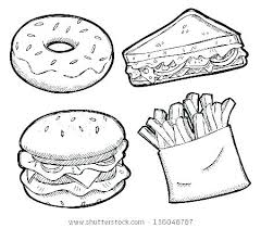Healthy Food Coloring Pages Top Food Colouring Pages Healthy Eating