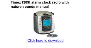 timex nature sounds alarm clock timex nature sounds alarm clock t300b timex