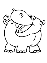 Free Printable Hippo Coloring Pages Unique Free Printable Hippo