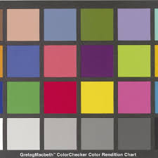 Gretagmacbeth Colorchecker Color Rendition Chart Download