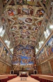 1 1512 michelangelo s paintings on the ceiling of the sistine chapel are