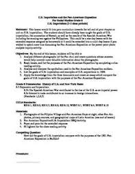 ese imperialism primary source worksheet primary sources  u s imperialism pan am expo dbq essay full lesson plan