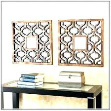 decorative wall mirror sets set of three mirrors gold
