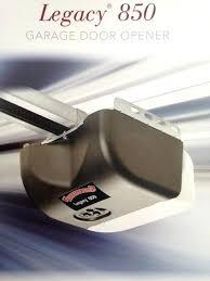 legacy garage door opener owners manual 696 light duty