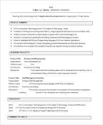 Fresher Resume Usa Under Fontanacountryinn Com