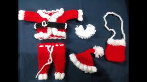Vastra Designer By Palak And Santa Part 1 Santa Pants Pajama How To Make Santa Dress For Bal Gopal Crochet Winter Christmas Dress