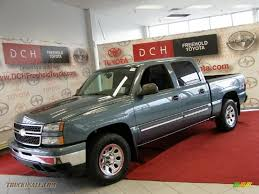 2006 Chevrolet Silverado 1500 LS Crew Cab 4x4 in Blue Granite ...