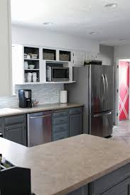 custom kitchen cabinets chicago. 78 Examples Significant Contemporary Kitchen Cabinets Chicago White Or Wood Orange And Brown Decor Midnight Blue Black Gray Ideas Charcoal Changing Cabinet Custom C