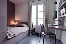 Collect this idea photo of small bedroom design and decorating idea - city  artist