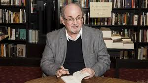on radio times salman rushdie over the rainbow arts author salman rushdie poses for photographers at a book signing in london tuesday