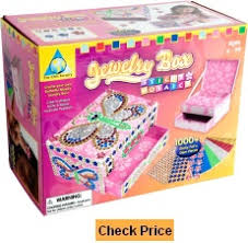 Orb Factory Sticky Mosaics Jewelry Box Best Boys and Girls Toys List for the 5 Year to 6 Old Age Group