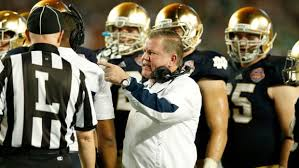 2012 Notre Dame Football Depth Chart Notre Dame Vacated Wins The 2012 Regular Season Remembered