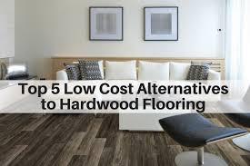 5 low cost alternatives to hardwood flooring