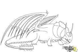 Small Picture How to Draw Skullcrusher from How to Train Your Dragon 2 DrawingNow