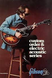 guitars designed by howard roberts also gibson made the howard roberts custom