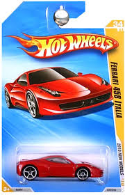 Amazon Com Hot Wheels 2010 Ferrari 458 Italia 034 240 10 New Models 1 64 Scale Collectible Die Cast Car Toys Games