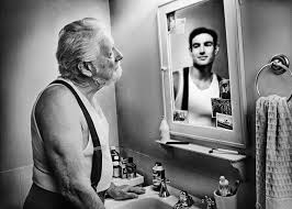 looking in mirror. Contemporary Mirror 10 Beautiful Portraits Of Elderly People Looking In A Mirror At Their  Younger Self And 6