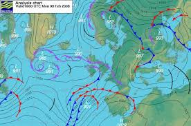 surface pressure charts understanding weather met office