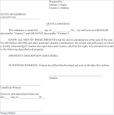Quit Claim Deed Form Amazing The Quitclaim Deed Form 44 Can Help You Make A Professional With