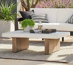 Find all variants of concrete coffee table available at discounted prices and offers. Pomona Concrete Coffee Table Pottery Barn