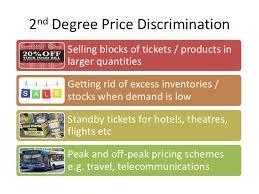 nd Degree Price Discrimination