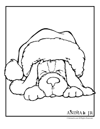 Small Picture Coloring Pages Cute Puppy Coloring Pages Christmas Puppy Coloring