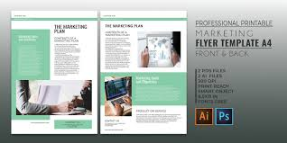 Business Marketing Flyer Template Psd Templates Free