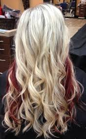 12 Beautiful Blonde Hairstyles With Red