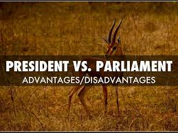 what is the difference between presidential and parliamentary form presidential form of government