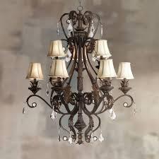 kathy ireland ramas de luces nine light chandelier