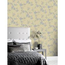 Arthouse Chinoise Yellow Wallpaper in ...
