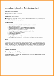 Administrative Assistant Cover Letter Sample New Sample Resume For