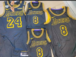 The nba stunned the basketball community with making plans to. L A Lakers To Wear Kobe Bryant Tribute Jerseys In Nba Playoffs Gigi Patch