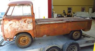 1960 Volkswagen VW Single Cab Dropgate Pickup Truck Great Gates ...