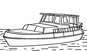 Small Picture Coloring Page Boat Pages For Kids Printable Toddlers Pdf mosatt