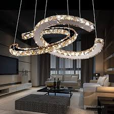 cwj ceiling chandelier chandelier stainless steel crystal chandelier modern led personality chandelier living room lights clothing