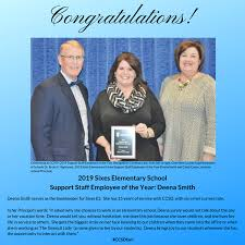 Meet a CCSD 2019 Support Staff Employee of the Year: Deena Smith of Sixes  ES! - Sixes Elementary School