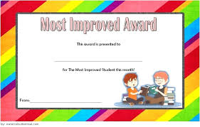 Most Improved Award Template Hostingpremium Co