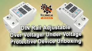 Over voltage and under voltage protective device protector relay ...