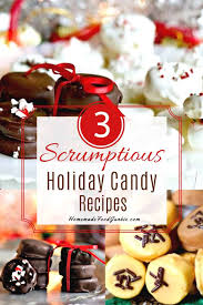 I'm chronically ill and just don't have the energy to spend hours baking cookies so i like recipes that you can make and be done and out of the kitchen in 30 minutes or less. Holiday Candies Recipe Homemade Food Junkie