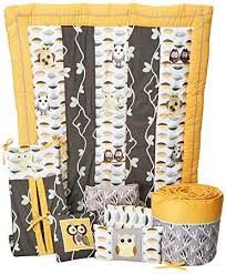 Baby nursery yellow grey gender neutral Bedding Amazoncom Dk Leigh Owl Piece Gender Neutral Crib Bedding Set Yellowgreen Owl Baby Crib Bedding Sets Baby Amazoncom Amazoncom Dk Leigh Owl Piece Gender Neutral Crib Bedding Set